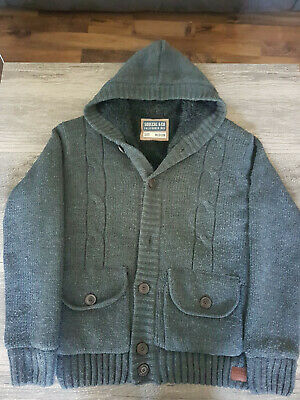 £12.99 • Buy Mens Fur Lined Soulcal Knitted Jacket Size Medium