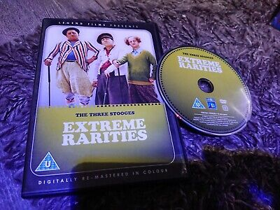 £3.50 • Buy The Three Stooges - Extreme Rarities (DVD, 2009) Digitally Remastered In Colour