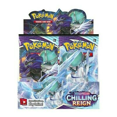 AU165 • Buy Pokemon TCG Chilling Reign Booster Box Brand New