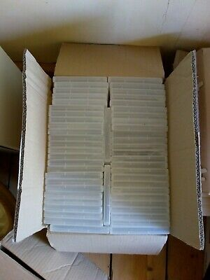 £5 • Buy 100 X Clear Replacement Empty DVD Cases 14mm Spine.