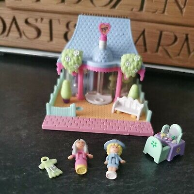 £29.99 • Buy Rare Polly Pocket Dress Shop Cafe 1995 Bluebird Toys With Accessories