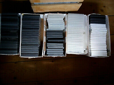£5 • Buy  Mix Of 100 X Replacement Empty DVD Cases 14mm Spine. Used.