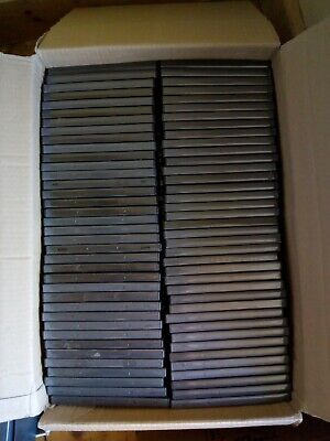 £5 • Buy 100 X Black Replacement Empty DVD Cases 14mm Spine. Used.