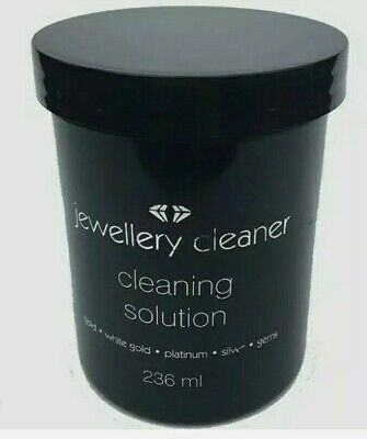 £10.99 • Buy Jewellery Cleaner Liquid Cleaning Solution Fluid Gold Silver Gems Platinum Shine