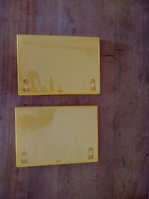 £3 • Buy 2  Yellow Replacement Empty Single DVD Cases. 14mm Spine. Used.