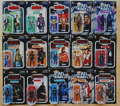 $ CDN32.99 • Buy Star Wars Vintage And Retro Collection Assortment Lot New 3.75 Figures