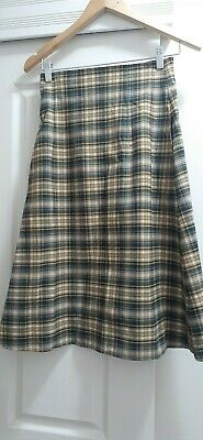AU80 • Buy Scanlan Theodore Checked Skirt With Side Pockets Size 6