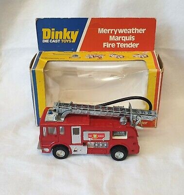 £50 • Buy Dinky 285 Merryweather Marquis Fire Tender. Fire Engine. Boxed.