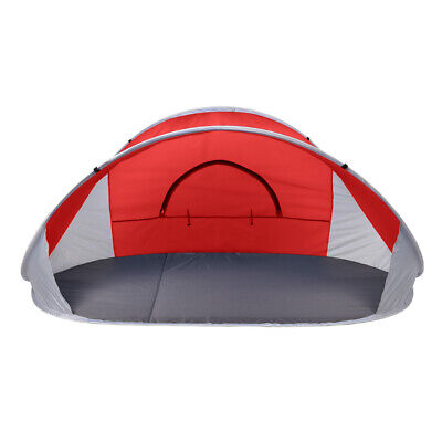 AU35.31 • Buy Mountvie Pop Up Tent Camping Beach Tents 4 Person Portable Hiking Shade Shelter