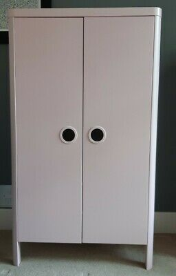 £5 • Buy Ikea Busunge Childrens Wardrobe Pink W 80 X H 139cm Collection Me16 Good Cond
