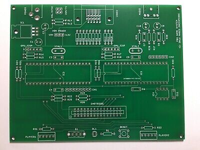 $17.87 • Buy PCBs For Open Source Game Console, The P8X Game System By Marco Maccaferri