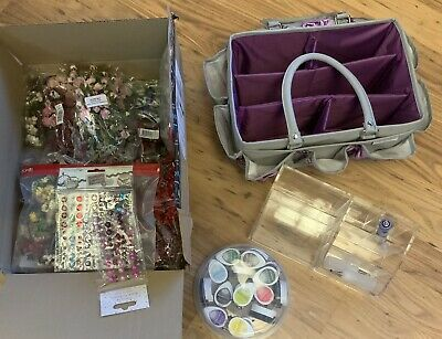 £16 • Buy Large Craft Bundle Clear Out Crafters Companion Deluxe Tote