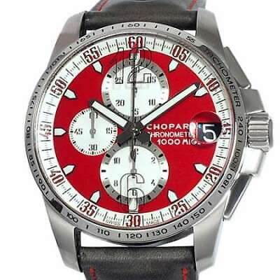 £3332.73 • Buy Free Shipping Pre-owned Chopard Mille Miglia GT Rosso Corsa Limited 168459-3036