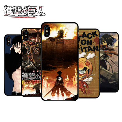 £2.99 • Buy Attack On Titan Soft Phone Case For Phone Case Cover For Iphone X XR XS 11 12Pro