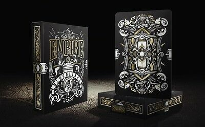$ CDN31.42 • Buy  EMPIRE LIMITED BLACK  Bloodlines Playing Cards By Lee McKenzie