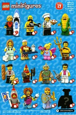 £4 • Buy Lego Minifigures Series 17 - Pick Your Own
