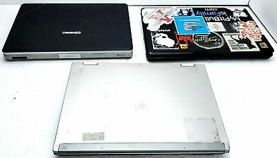 $ CDN124.50 • Buy Lot Of 3 Hp, Toshiba Laptops For Parts Or Repair Hp 8530w L505p V5000
