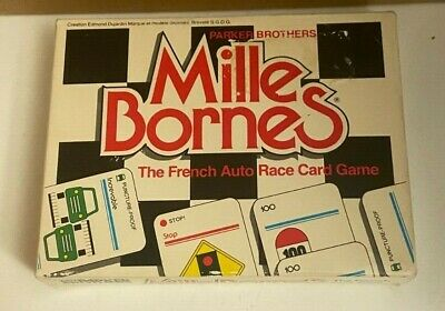 $10 • Buy Vintage Mille Bornes The French Auto Race Card Game Parker Brothers Complete