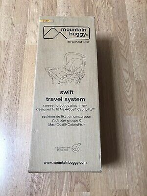 £0.99 • Buy Mountain Buggy Swift Travel System Car Seat Adapter Maxi Cosi Cabriofix/pebble