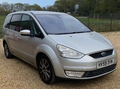 £995 • Buy 2009 Ford Galaxy Ghia 1.8 TDCI Full Leather Spares Or Repairs