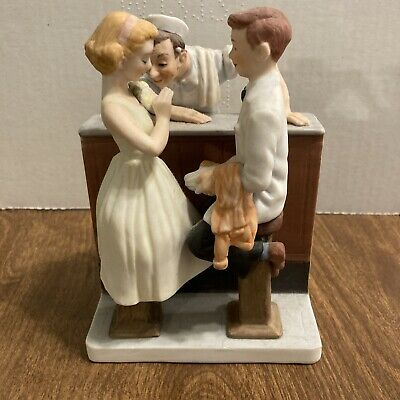 $ CDN22.89 • Buy Norman Rockwell, Dave Grossman Figurine,  After The Prom , VG Condition