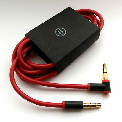 £2.99 • Buy Replacement V2 3.5mm L Jack Audio AUX Cable Cord Wire Lead For Beats By Dr Dre