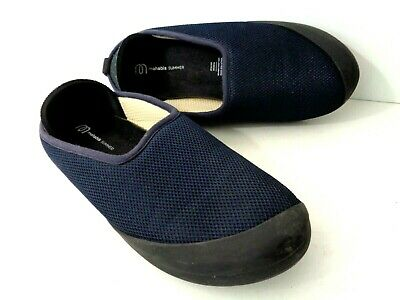 $29.99 • Buy MAHABIS SUMMER EUR 37 Blue Summer Slip On Slipper W Removable Outsole Shoes