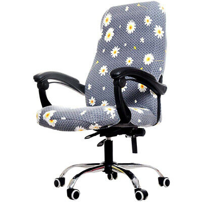 AU18.99 • Buy Printed Office Chair Covers, Stretch Computer Chair Cover Universal Boss Ch P7B2