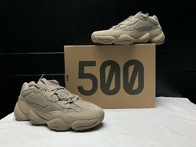 $ CDN314.71 • Buy DS Adidas Yeezy 500 Taupe Light - GX3605 - Size 10.5 OFF-WHITE, CINDER, BRED