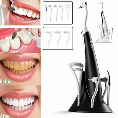 £11.39 • Buy 5 IN1 Tooth Polishing Cleaner Ultrasonic LED Electric Oral Teeth Cleaning Kit