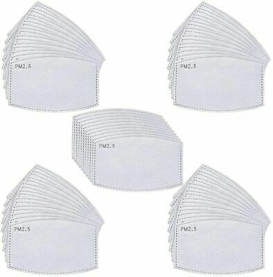 £2.99 • Buy PM2.5 FILTER For Washable Reusable Cotton Face Mask Activated Carbon X 20