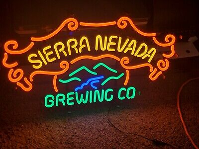 $ CDN245.48 • Buy New Sierra Nevada Mountains Craft Led Beer Sign Light Bar Neon Brewing Company