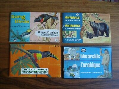 £5.99 • Buy 4 Early Brooke Bond Canada Albums Song And Tropical Birds, Animals The Arctic