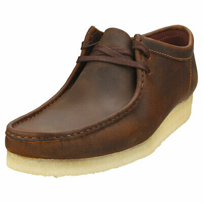 £89.99 • Buy Clarks Originals Wallabee Mens Beeswax Leather Wallabee Shoes