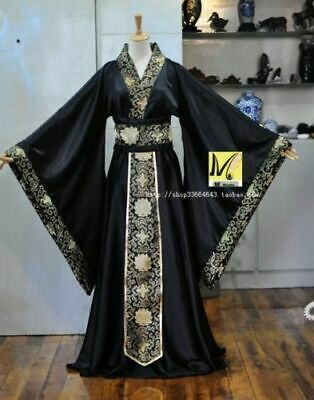 £19.50 • Buy Men's Chinese Han Clothing Emperor Prince Show Cosplay Suit Robe Costume Hanfu