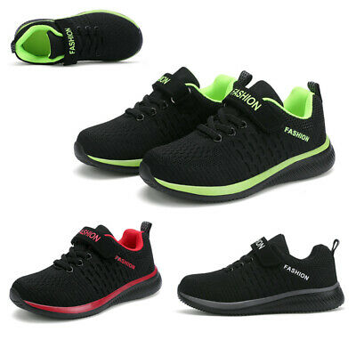 £14.59 • Buy Boys Running Trainers Lightweight School Sports Shoes Kids Casual Sneakers Size