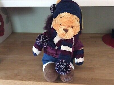 """£5 • Buy Winnie The Pooh Limited Edition Coat And Scarf Disney Soft Toy With Tags. 20"""""""