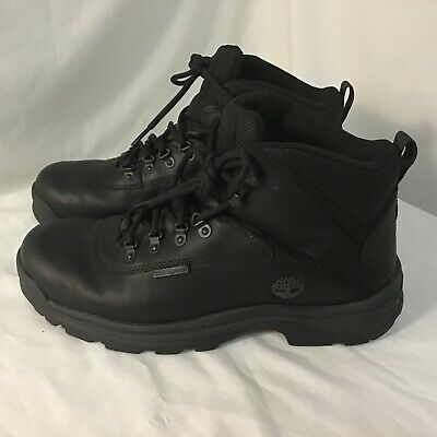 £39.39 • Buy Mens Timberland White Ledge Waterproof Mid Hiker 12122 Black Boots Shoes Size 10