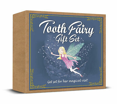 £5.99 • Buy Tooth Fairy Gift Set - Story Book, Tooth Bag, Fairy Dust, Certificates, Cleaning