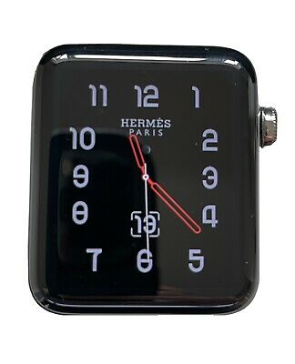 $ CDN553.95 • Buy Apple Watch Hermes Series 3 42mm GPS+Cellular Immaculate Condition