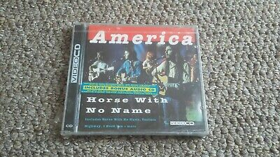 £4.99 • Buy America - Horse With No Name Rare Vcd/cd Set  German Press.. Sealed