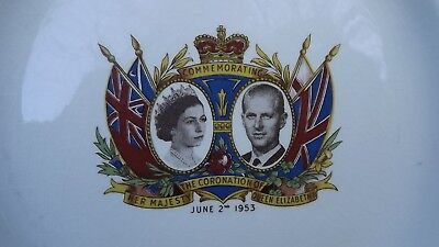 £34.99 • Buy RARE 1953 Coronation Of The Queen Plate Depicting Prince Philip Made In Canada