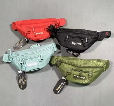 $26.99 • Buy New Multicolor Supreme Waist Bag Fanny Pack SS19 Brand