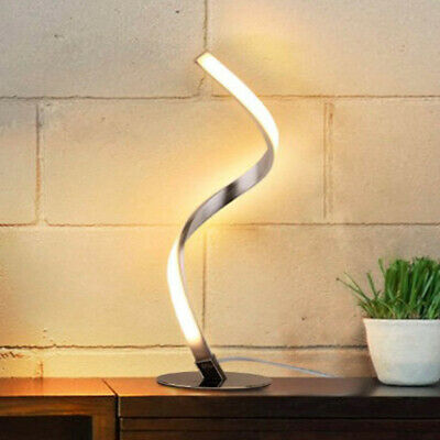 AU59.88 • Buy Modern Spiral Table Desk Lamp Dimmable Touch LED Bedside Reading Night Light AU