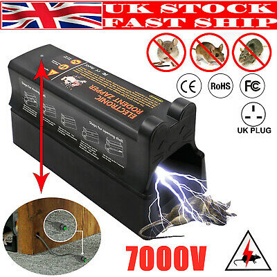 £27.59 • Buy Electronic Mouse Trap Victor Control Rat Killer Pest Mice Electric Rodent Zapper