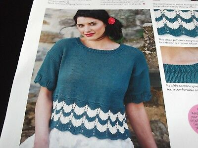 £0.50 • Buy Open Air- Knitting Pattern For Ladies Cropped Top By Rita Taylor