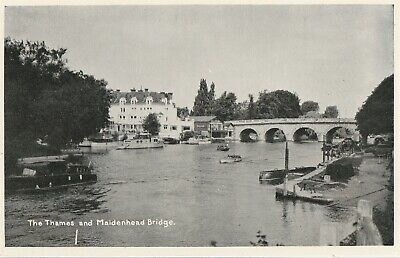 £2.19 • Buy D England Berkshire Old Picture Postcard English River Thames At Maidenhead