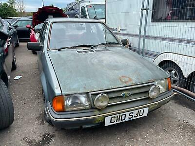£995 • Buy 1985 Ford Orion GL 1.6 Petrol Manual 5dr ( RARE BARN FIND CLASSIC PROJECT )