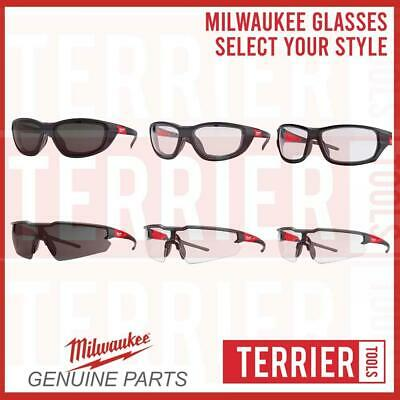 £11.99 • Buy Milwaukee Glasses/Safety Specs - Choose Your Style