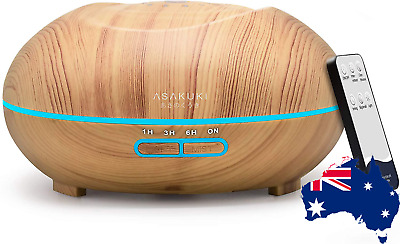AU43.72 • Buy Essential Oil Diffuser Remote Control 500Ml Cool Mist Humidifier 16Hr Operation
